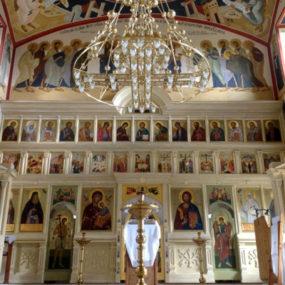 Роспись. Храм Святителя Николая в селе Макарово.