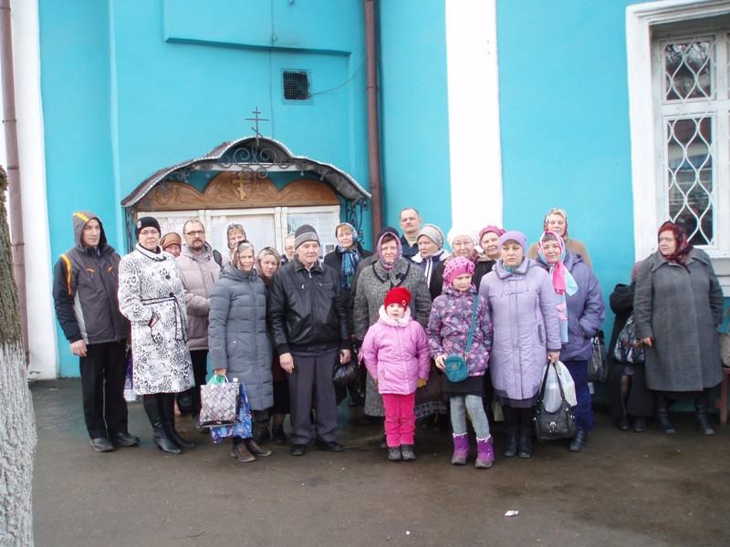 Поездка прихожан из Черноголовки  в Троице-Сергиеву Лавру