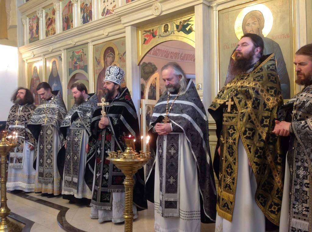 Соборная служба в Макарово в день памяти преподобномученицы Александры Черноголовкой
