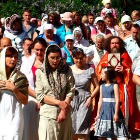 Престольный праздник в храме святителя и чудотворца Николая села Макарово