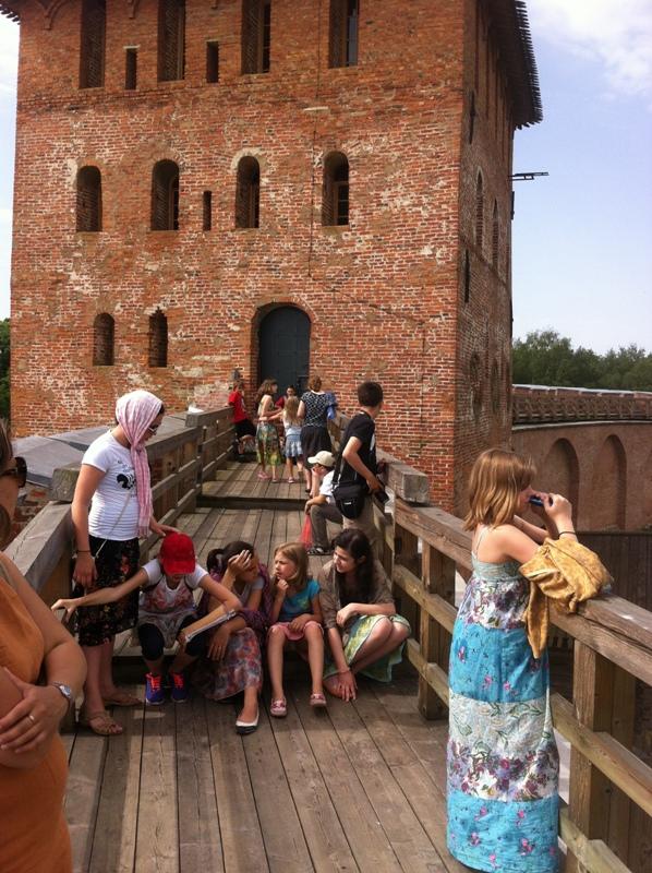 Поездка детей из прихода Свято-Никольского храма в Великий Новгород