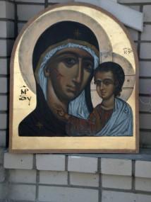 Часовня в честь Иверской иконы Божией Матери в г.Чеоноголовке 26 октября 2014г.