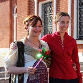 Семейный пасхальный фестиваль 12 апреля 2014г в Макарово