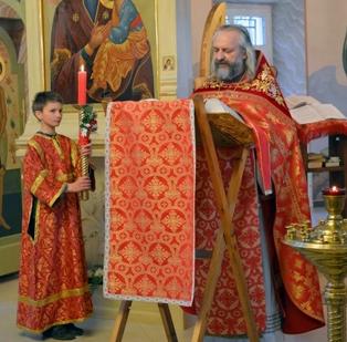 Проповедь протоиерея Вячеслава Перевезенцева (18.04.15)