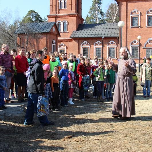 Семейный пасхальный фестиваль 12 апреля 2014г. в Макарово