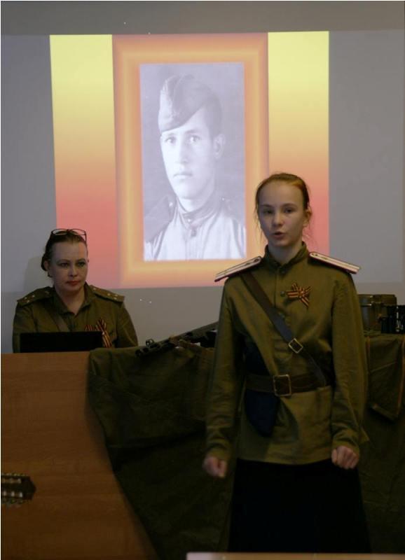 8 мая в школе №82 прошел праздник, посвященный 70-летию Победы