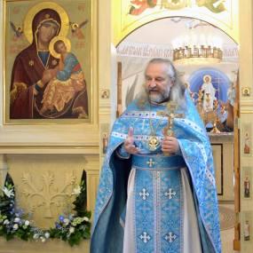 28 августа 2015 года. Успение Пресвятой Владычицы нашей Богородицы и Приснодевы Марии
