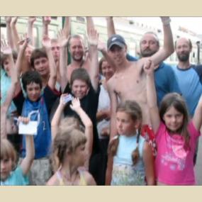 <b>Фильм «Юрюзань»</b>, снятый в аква-походе (2008 год)