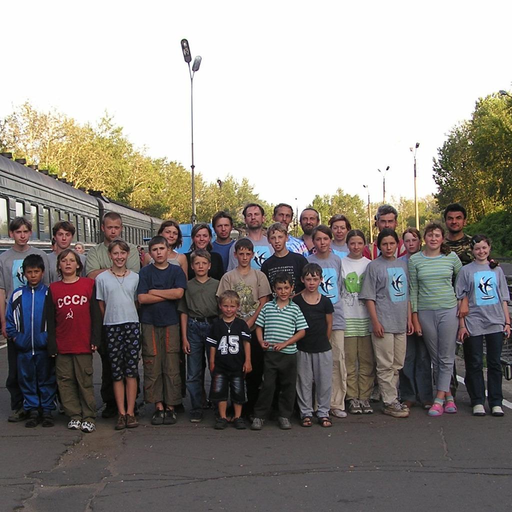 Поход в Карелию в 2004 году