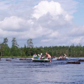 Фильм снятый в походе в Карелию 2005 году