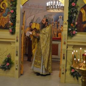Соборная Божественная Литургия в Свято-Никольском Храме (с.Макарово)