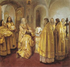 Священническая хиротония