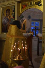 19 декабря 2015г. - Божественная Литургия в храме Святителя и Чудотворца Николая в с.Макарово