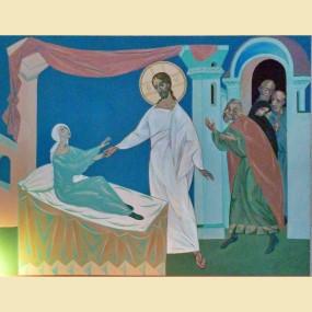 <b>Исцеление дочери Иаира</b> (прот.Вячеслав Перевезенцев)