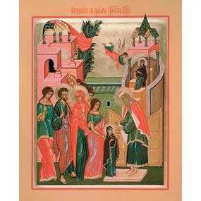 <b>4 декабря 2015 года</b> — Введение во храм Пресвятой Владычицы нашей Богородицы
