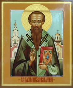 Святитель Василий Великий, архиепископ Кесарии Капподакийской.