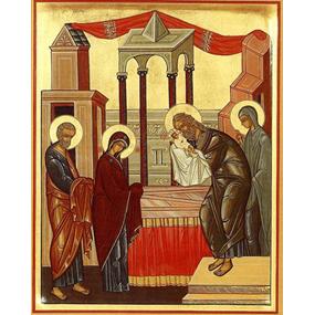 <b>15 февраля 2016 года</b> — Сретение Господа Бога и Спаса нашего Иисуса Христа