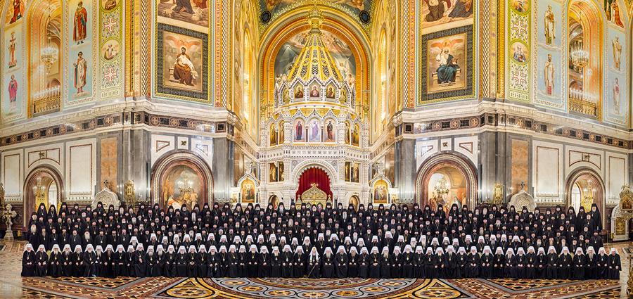 Архиерейский Собор, состоявшийся в Москве 2-3 февраля 2016 года