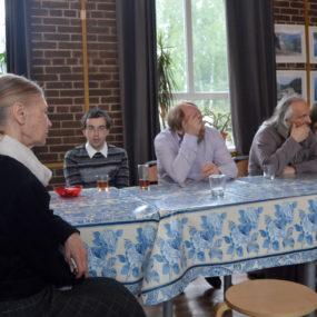 Встреча с писательницей А.Я. Чадаевой