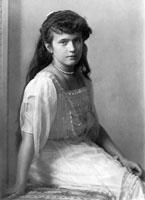 Великая княжна Анастасия Николаевна Романова (18 июня 1901 - 17 июля 1918)