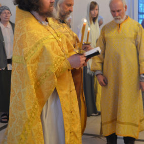 Всенощное бдение в Свято-Никольском храме с.Макарово