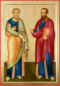 Святые первоапостолы Петр и Павел