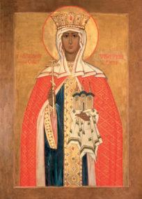 Святая великая княгиня Ольга