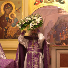 Праздник Воздвижения Креста Господня в Макарово
