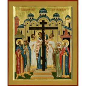 Свт. Андрей Критский. <b>Воздвижение Честного и Животворящего Креста.</b>