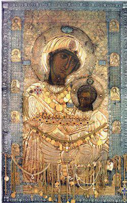 Иверская икона Божией Матери.