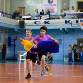 Детский спортивный турнир «Веселые старты» в рамках ежегодной акции «Согреем детские сердца»