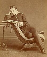 Леонид Чичагов, выпускник Пажеского корпуса, 1874 года.
