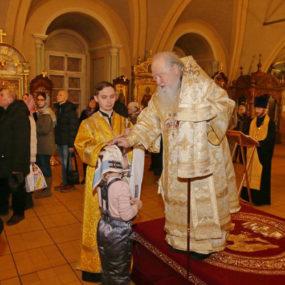 31 декабря 2016г. в Успенском храме Новодевичьего