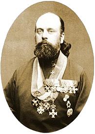 Священник Леонид Чичагов, 1894 год.