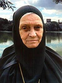 Игумения Серафима, внучка святителя Серафима (Чичагова).