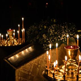 В храме вмч. Пантелеимона состоялся новогодний молебен
