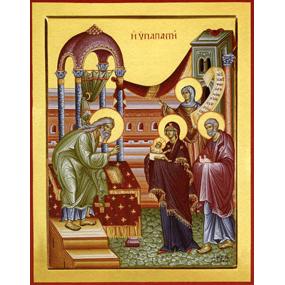 <b>15 февраля 2017 года</b> &#8212; Сретение Спаса нашего Иисуса Христа