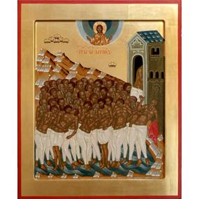 <b>21 марта 2017 года</b> &#8212; 40 мучеников Севастийских