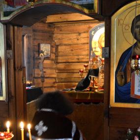 Литургия Преждеосвященных Даров 1 марта 2017 года в Храме Великомученика и Целителя Пантелеимона (г.Черноголовка)