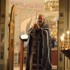 Литургия Преждеосвященных Даров 3 марта 2017 года в Храме Святителя Николая (c.Макарово)