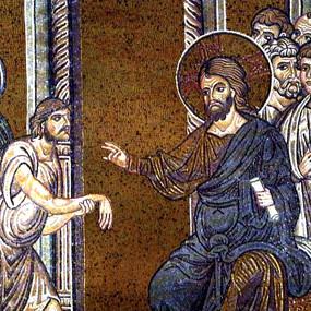 Исцеление Иисусом сухорукого