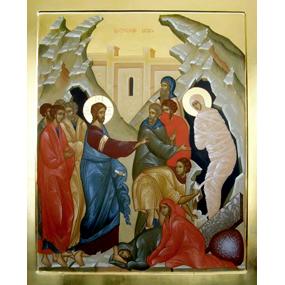 Воскрешение праведного Лазаря