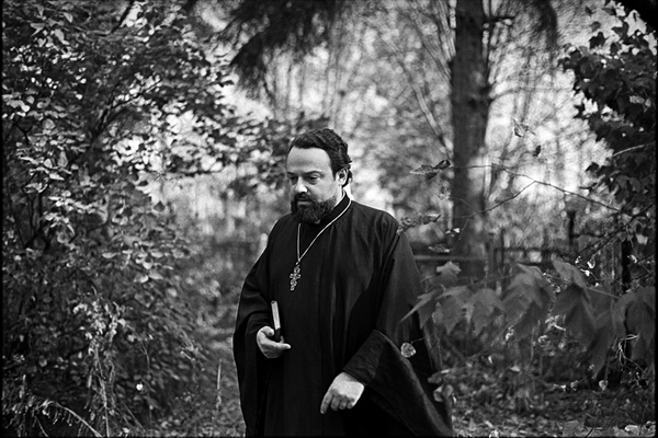 Отец Александр Мень. Фото: Vladimir Sichov, 1978 год.