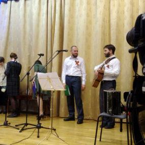 Песни военных лет в исполнении хора Никольского храма с.Макарово
