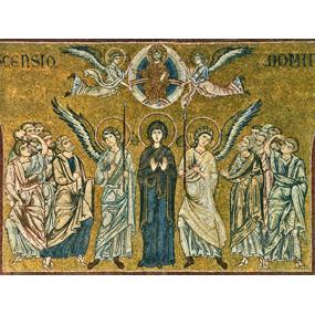 Мозаика собора в честь Рождества Пресвятой Богородицы г. Монреале, Сицилия