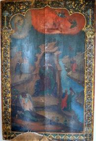 Икона святого пророка Илии в в храме Святителя Николая селе Макарово