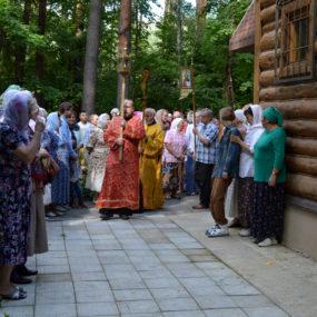 9 августа 2017 года. Престольный праздник в больничном храме в городе Черноголовка.