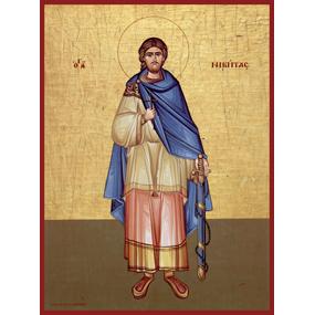 Великомученик Никита Готфский, Константинопольский