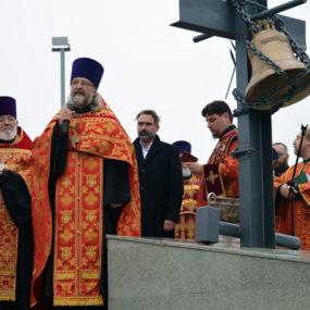 Освящен Поклонный крест в Черноголовке