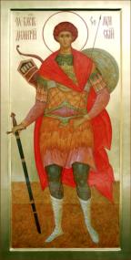 Великомученик Димитрий Солунский (Фессалоникийский), Мироточивый